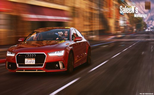 Audi RS7 Sportback 2015 [Replace/Addon]