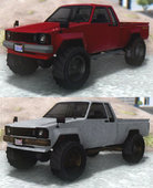 GTA V Karin Rebel 4x4 & Worn