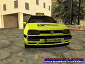 VW Golf Mk3 Top Speed Auto Skola