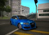 Audi RS6 Avant Blue Star Badgged