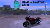 [III] PCJ 600 for GTA III [DMagic1]