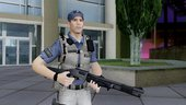 COD AW Jon Bernthal Security Guard