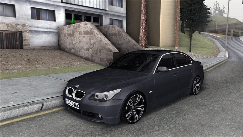 gta san andreas bmw 530d e60 mod. Black Bedroom Furniture Sets. Home Design Ideas