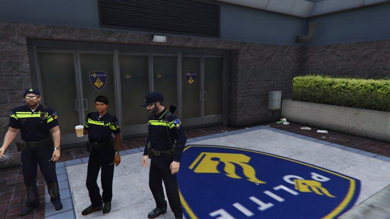 GTA 5 Dutch Police Stations [OIV] Mod - GTAinside.com