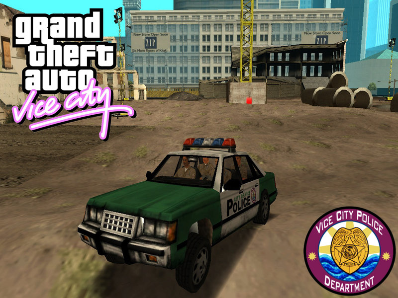 Gta San Andreas Police Car From Vice City Mod