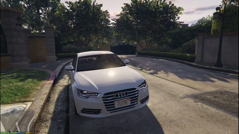 GTA Audi A Mod GTAinsidecom - Audi car gta 5