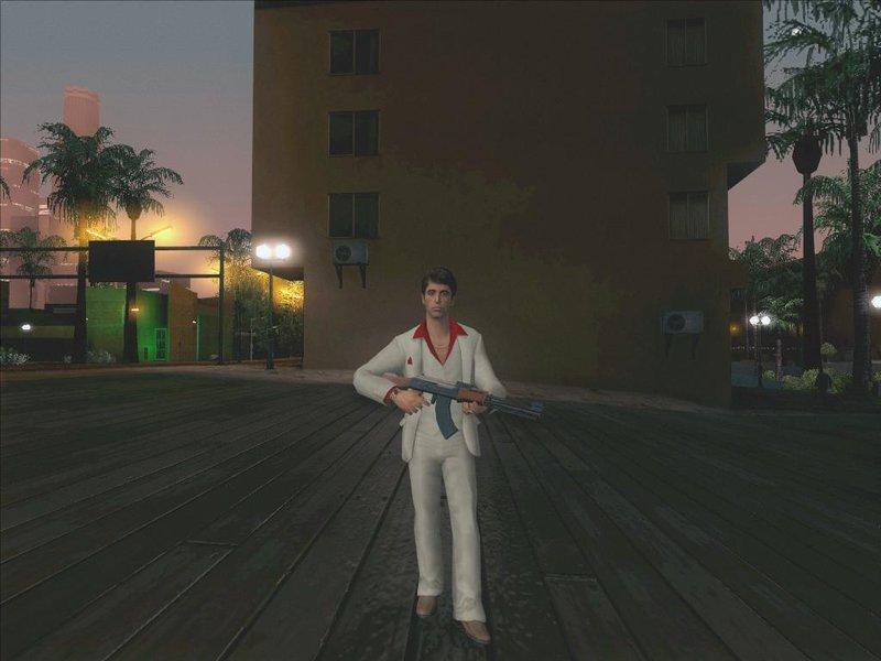GTA San Andreas Scarface The World is Yours Tony Montana Pack Mod - GTAinside.com