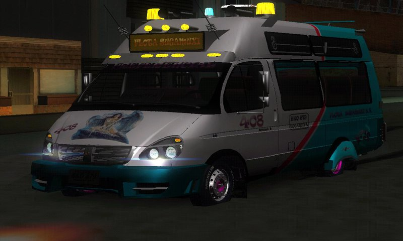 Gta San Andreas Microbus Gazelle Stylo Colombia Mod