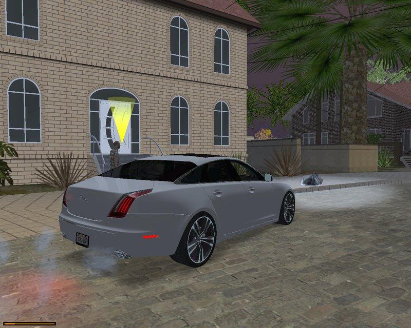 gta san andreas jaguar xj 2010 mod. Black Bedroom Furniture Sets. Home Design Ideas