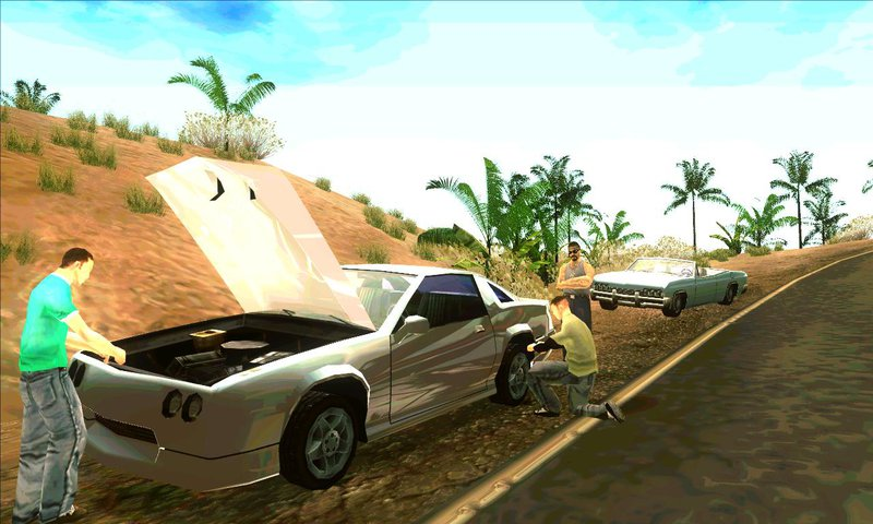 GTA San Andreas Life situation v3 for Android Mod