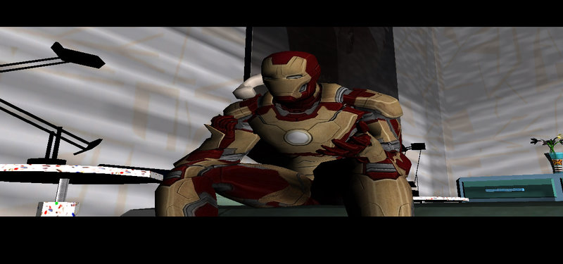 GTA Vice City Iron Man Skin New Version Mod - GTAinside com