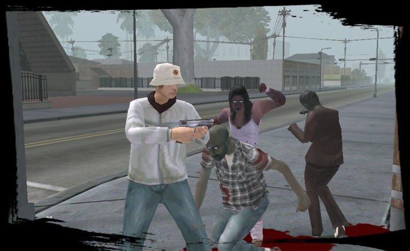 videos de san andreas apocalipsis zombie