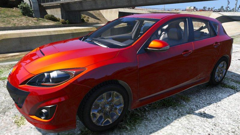 Gta 5 2010 mazda mazdaspeed 3 mod for Mazdaspeed 6 exterior mods