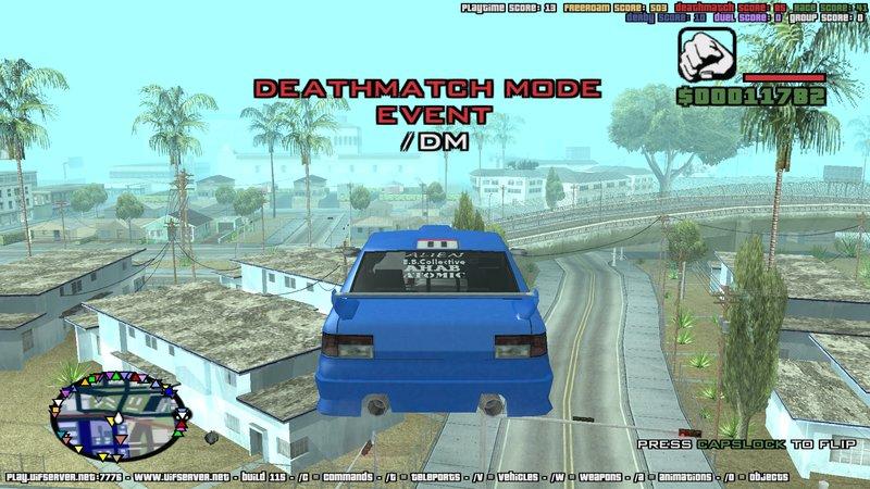 GTA San Andreas Flying Car Mod Mod - GTAinside com