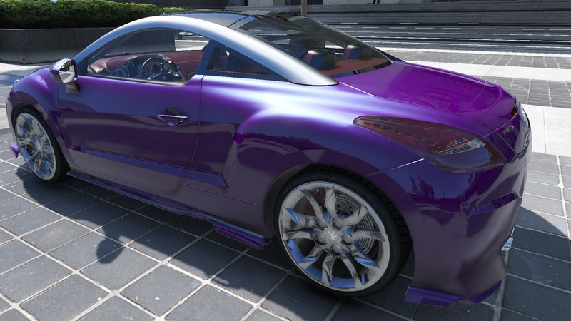 gta 5 2010 peugeot 308 rcz mod. Black Bedroom Furniture Sets. Home Design Ideas