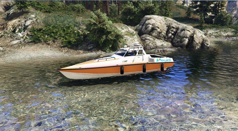 GTA 5 Predator Boat Swiss - GE Police Mod - GTAinside com