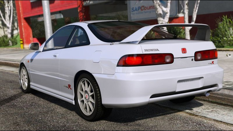 gta 5 honda integra type r dc2 add on replace mod gtainside. Black Bedroom Furniture Sets. Home Design Ideas