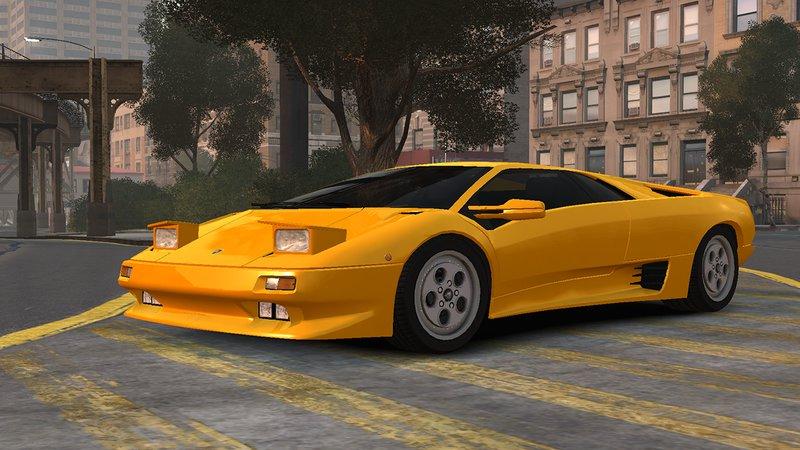 Lamborghini Diablo 1990 >> Gta 4 1990 Lamborghini Diablo V1 3 Mod Gtainside Com