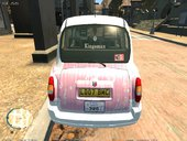 μ's London Taxi Paintjob