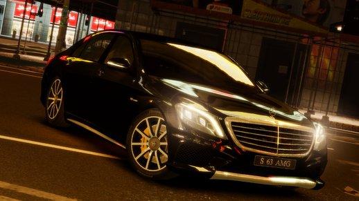Mercedes Benz S63 AMG w222
