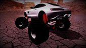 2016 Mercedes-Benz AMG GT Monster Truck