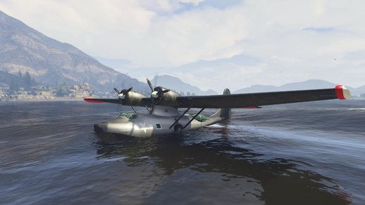 PBY5 Catalina seaplane + Add-on