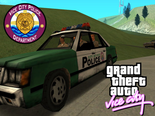 Police Car From Vice City
