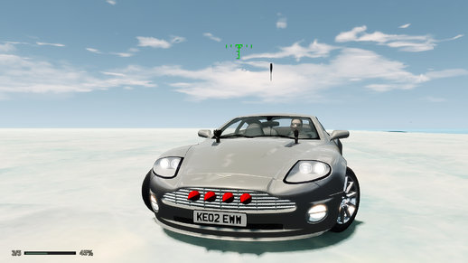 007 Die Another Day Movie Mod 2001 Aston Martin Vanquish 3.0