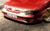 Renault Megane 1 Red Air