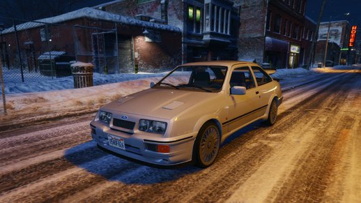 1987 Ford Sierra RS Cosworth [HQ / Tuning]