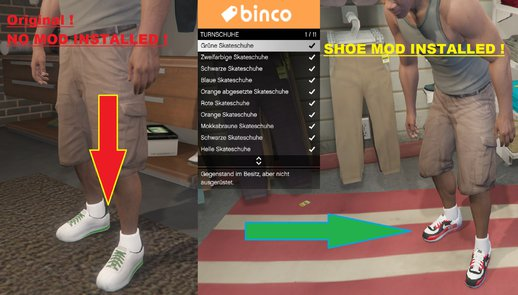 Franklin NEW Sports Shoes Mod (Binco)