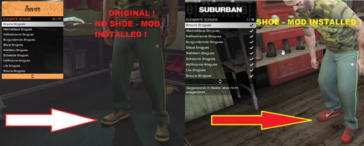 Trevor new SubUrban Sports Shoes Mod