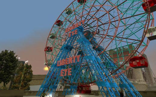 Ferris Wheel Liberty Eye