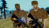 MGSV Phantom Pain Central Force in Africa Soldier