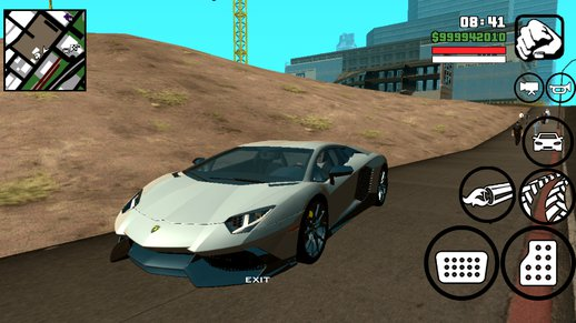 Lamborghini Aventador 50th Anniversario for Android