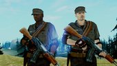MGSV Phantom Pain Zero Risk Security Soldiers