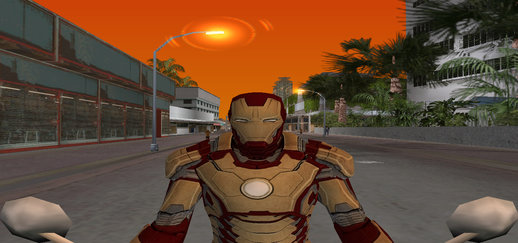 Iron Man Skin New Version