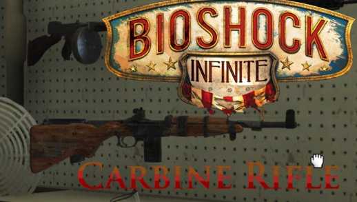 Bioshock Infinite - Carbine Rifle