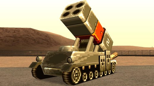 M15-A Bradley from Metal Slug