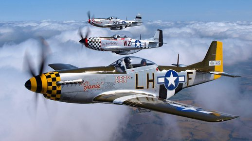 P-51 Mustang Sounds