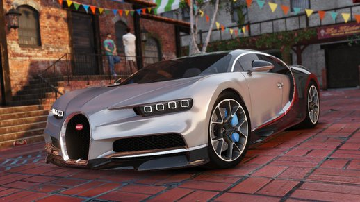 Bugatti Chiron & Vision Tuning [Add-On]