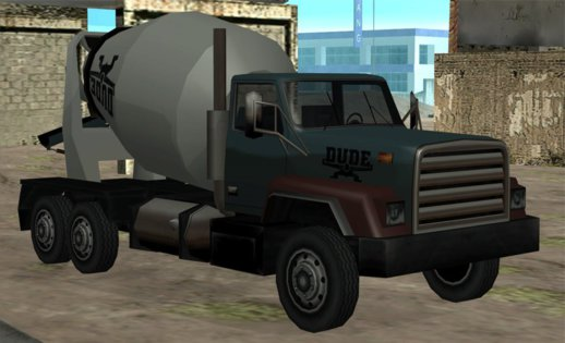 Cement Mixer DUDE Original Rockstar