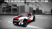 Ford F-150 Raptor 2015 Xsetus editing