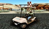 GTA V Gambler's Caddy Golf Cart