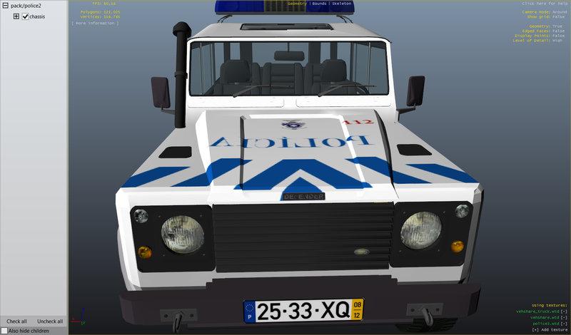 gta 4 land rover defender police els v6 x2 pack v16 mod - gtainside