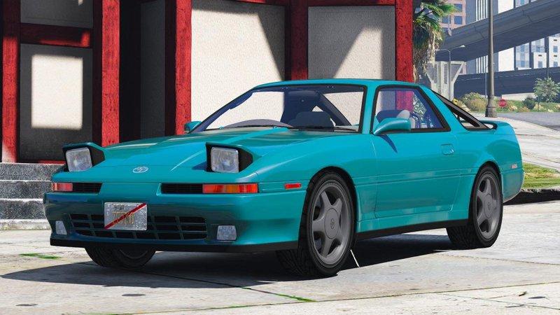 GTA 5 1992 Toyota Supra Turbo Mk3 Mod - GTAinside.com