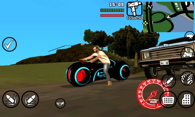 GTA San Andreas Tron Bikes Dff Only No Txd Mod - GTAinside com