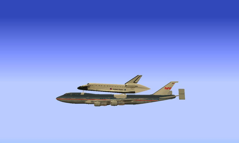 space shuttle carrier 747 american airlines - photo #41