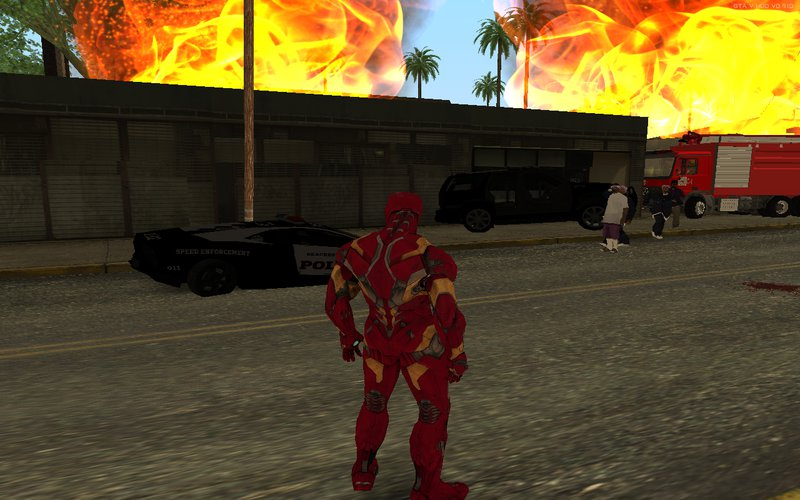 GTA San Andreas Iron Man Mark 46 Mod - GTAinside com