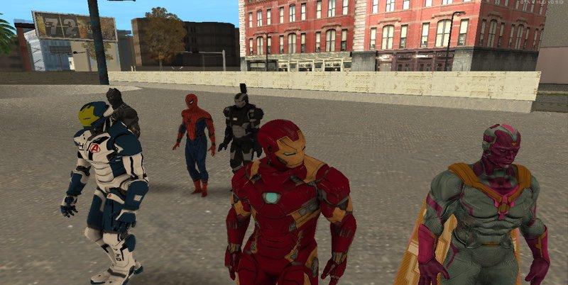 GTA San Andreas Iron Man Mark 46 Mod - GTAinside com